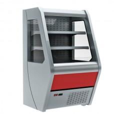 Витрина вертикальная Carboma 1260/700 ВХСп-0,7 открытая холодильная