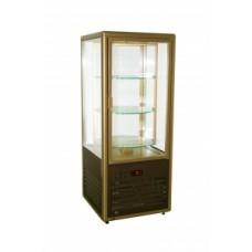 Холодильный кондитерский шкаф витрина R 120 CВР Carboma вентилируемый