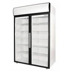 Шкаф Polair DV114-S холодильный распашные стеклянные двери