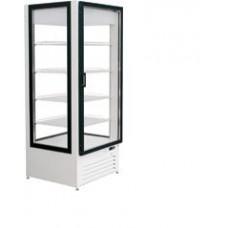 Шкаф Премьер холодильный 0,75 С 4 стороны стекло динамическое охлаждение +5..+10