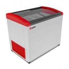 Ларь морозильный Gellar Фростор FG 350 Е гнутое стекло 3 корзины