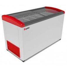 Ларь морозильный Gellar Фростор FG 500 Е гнутое стекло 5 корзин