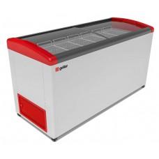 Ларь морозильный Gellar Фростор FG 675 Е гнутое стекло 7 корзин
