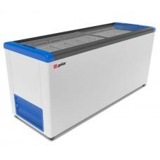 Ларь морозильный Gellar Фростор FG 700 С прямое стекло 7 корзин