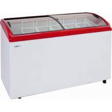 Ларь морозильный Italfrost CF300-C гнутое стекло 4 корзины морозильный