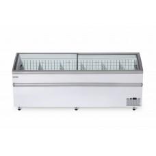 Ларь бонета BFG 2100 холодильно-морозильная с гнутым стеклом