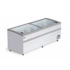 Ларь бонета BFG 2500 холодильно-морозильная с гнутым стеклом