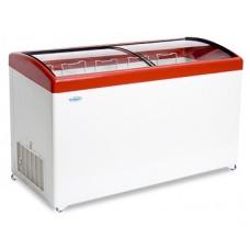 Ларь морозильный Снеж МЛГ-350 гнутое стекло