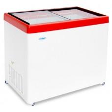 Ларь морозильный Снеж МЛП-250 прямое стекло