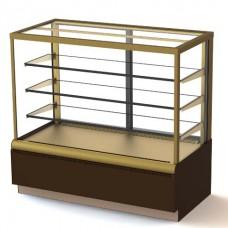 Витрина кондитерская Carboma Cube Люкс ВХСв 0,9 д вентилируемая холодильная