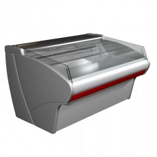 Открытая холодильная витрина Carboma ВХСл 1,5 рыба на льду
