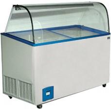 Витрина для мороженого Crystal Venus-56 vitrine (curved) гнутое