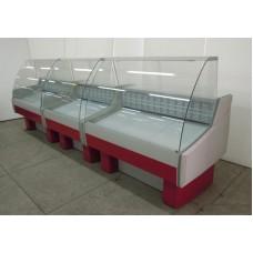 Витрина Айсберг Люкс Оптима-СП 1,6 холодильная с подтоварником