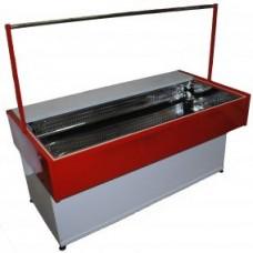 Стол мясной охлаждаемый Иней-СО 1500 красный RAL 3020
