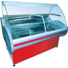 Витрина Иней 8МПС 1500 универсальная холодильная