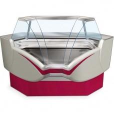 Витрина Cryspi Gamma-2-IC холодильная 0..+7 внутренний угол