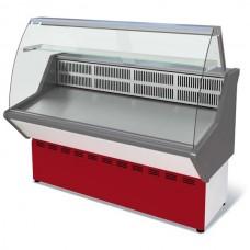 Витрина Нова ВХС 1,0 холодильная гнутое стекло