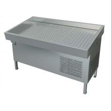 Прилавок холодильный рыба-на-льду ПХС-1,55/0,85