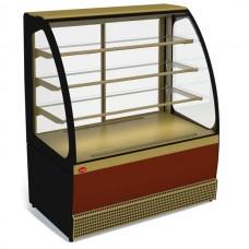 Витрина холодильная кондитерская Veneto VS-0,95 крашенная