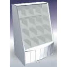 Алина бочка прилавок-витрина кондитерская кант 16 ячеек
