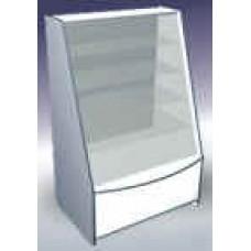 Алина прилавок-витрина 90*66*140 кант