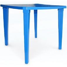 Стол пластиковый квадратный Романтик синий