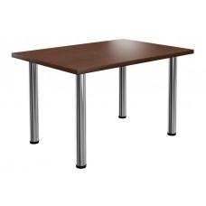 Стол обеденный 1400х700х750 мм на хромированных опорах