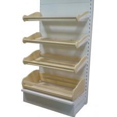 Короб хлебный К-30 глубокий 30*50*99 см без кронштейнов