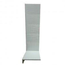 Лайт Нордика-50 стеллаж перфорированный 190*50 см, в связке