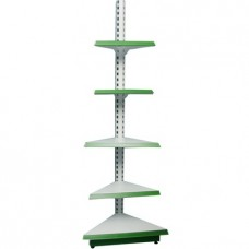 Лайт Нордика-50 стеллаж угловой наружный 225 см