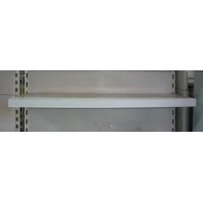 Ценникодержатель белый на липучке 100*4 см