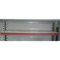Ценникодержатель красный на липучке 100*4 см