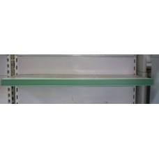 Ценникодержатель зеленый на липучке 1000*40 мм