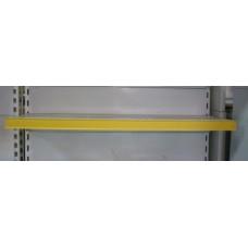 Ценникодержатель желтый на липучке 100*4 см