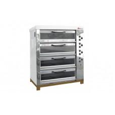 Печь хлебопекарная ХПЭ-750/4С со стеклянными дверками