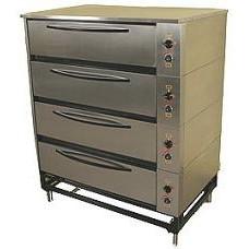 Шкаф жарочно-пекарский ЭШП-4с(у) оцинкованная сталь