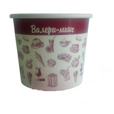 Креманка бумажная для мороженого 140 мл