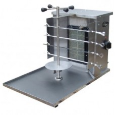 Аппарат Шаверма Ф1ШМГ газовая шаурма 1 горелка