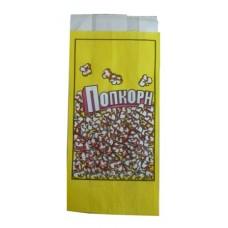 Пакет бумажный для попкорна прямоугольный