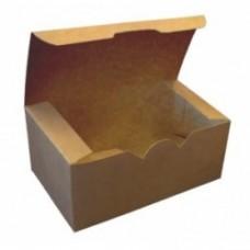 Коробка для наггетсов, крылышек, картофеля фри 900 мл бумага крафт