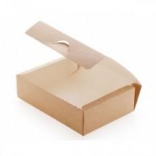 Коробка для наггетсов, крылышек, картофеля фри 500 мл бумага крафт