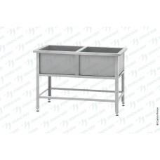 Ванна моечная ВМСн - 800/2 Norma Inox