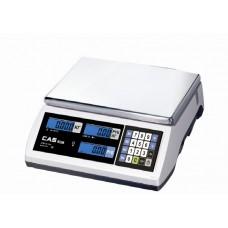 Весы CAS ER JR-30CB электронные торговые без стойки до 30 кг