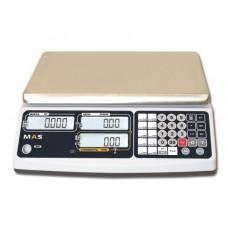 Весы MAS MR1-30 электронные торговые без стойки до 30 кг