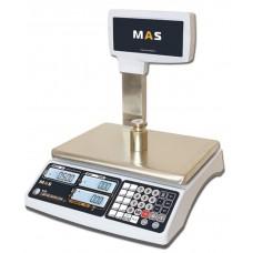 Весы MAS MR1-6P электронные торговые со стойкой до 6 кг